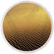 Desert Sands Round Beach Towel