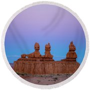 Desert Sisters Round Beach Towel