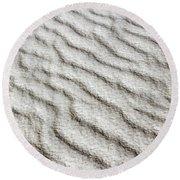 Desert Textures 1 Round Beach Towel