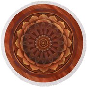 Desert Wind Round Beach Towel