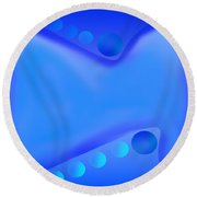Design #17 Round Beach Towel