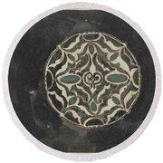 Design For A Brooch , Carel Adolph Lion Cachet, 1874 - 1945 Round Beach Towel