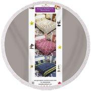 Designer Bed Sheet To Decor Home Round Beach Towel