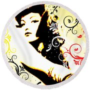 Desire Round Beach Towel