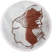 Desmond - Tile Round Beach Towel