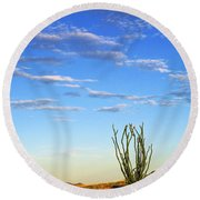 Desperado Round Beach Towel