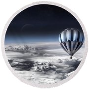 Destiny Round Beach Towel