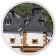 Detail Of Burg Pfalzgrafenstein Round Beach Towel