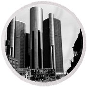 Detroit Rc From Congress Round Beach Towel