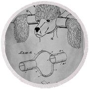 Device For Protecting Animal Ears Patent Drawing 1l Round Beach Towel