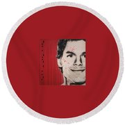 Dexter Round Beach Towel