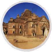 Dhammayangyi Temple Round Beach Towel