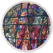 Diabolical Madness - Original Round Beach Towel