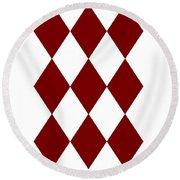 Diamond Poker Card Game Symbol Abstract Modern Art On T-shirts N Pod Navinjoshi Fineartameririca Round Beach Towel