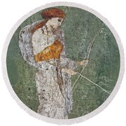 Diana Round Beach Towel