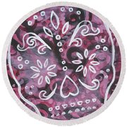 Did I Mention Round Beach Towel