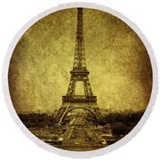 Dignified Stature Round Beach Towel