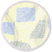 Dilapidated Round Beach Towel