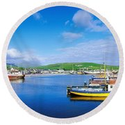 Dingle, Dingle Peninsula, Co Kerry Round Beach Towel