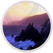 Dingle Peninsula, Co Kerry, Ireland Round Beach Towel