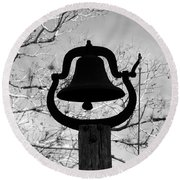 Dinner Bell Round Beach Towel