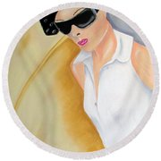 Dior..2 Round Beach Towel