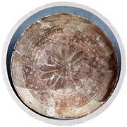 Dish Of Halaf Ware Round Beach Towel