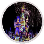 Disney 14 Round Beach Towel