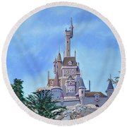 Disney World Round Beach Towel