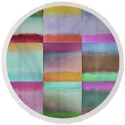 Distant Shores Round Beach Towel