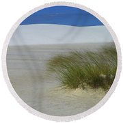 Dither Round Beach Towel