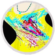 Diva Round Beach Towel