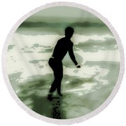 Dive In Round Beach Towel