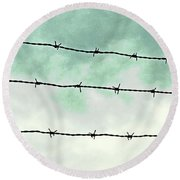 Dividers Round Beach Towel