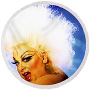 Divine 3 Round Beach Towel