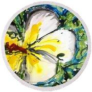 Divine Blooms-21167 Round Beach Towel