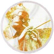Dizzy Gillespie Cheraw South Carolina 2 Round Beach Towel
