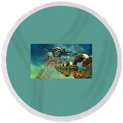 Dmc Devil May Cry Round Beach Towel