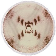 Dna X-ray Round Beach Towel