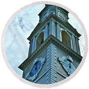 Do Not Be Late For Church Round Beach Towel