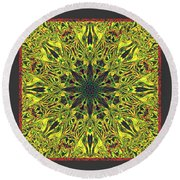 Docira Round Beach Towel