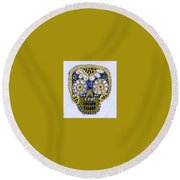 Dod Art 123iiu Round Beach Towel