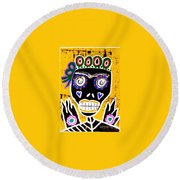 Dod Art 123kuy Round Beach Towel