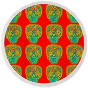 Dod Art 123rd Round Beach Towel
