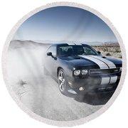 Dodge Challenger Srt8 Round Beach Towel