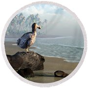 Dodo Afternoon Round Beach Towel