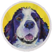 Dolly Round Beach Towel