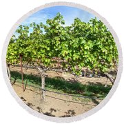Domaine Chandon Panorama Round Beach Towel