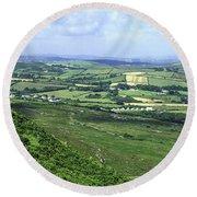 Donegal Patchwork Farmland Round Beach Towel