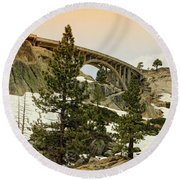 Donner Round Beach Towel
